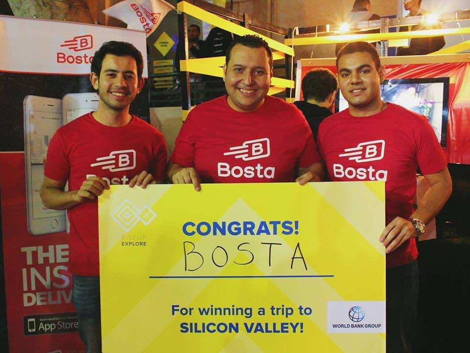 Bosta team won a trip to Silicon Valley