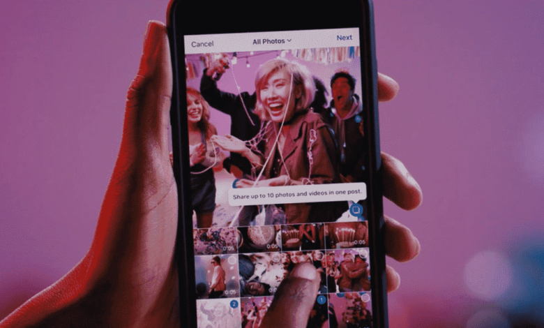 Instagram multiple, Instagram now lets you upload multiple photos, videos in one post