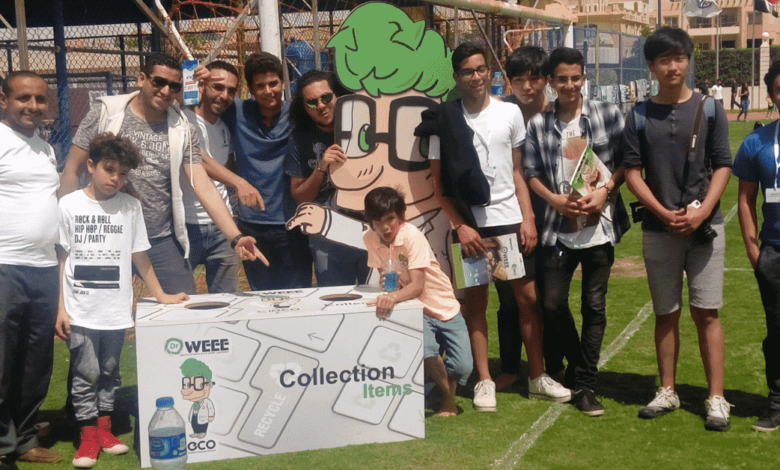 Dr Weee app, waste recycling, Egypt dr weee team