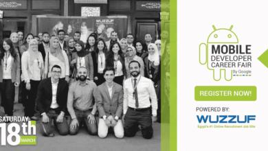 Wuzzuf, google, mobile developers career fair in Egypt