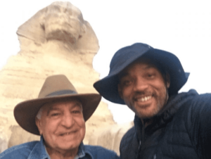 Will Smith with Dr. Zahi Hawass, Egypt, Pyramids