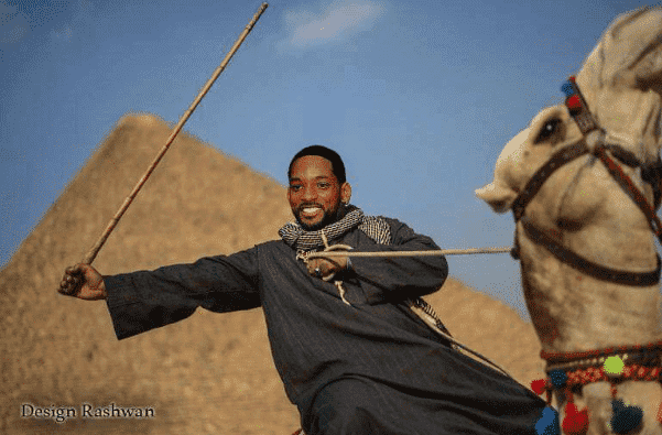 Will Smith camel, Egypt