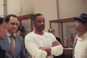 Will Smith's visit to the Egyptian museum