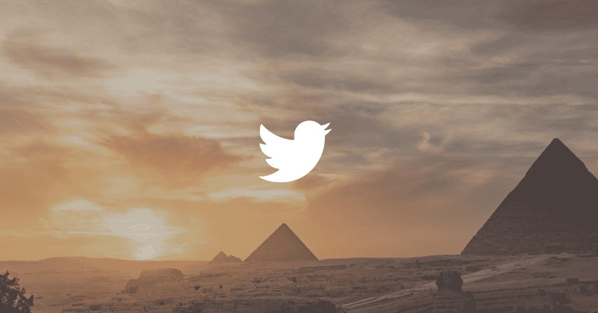 Twitter users data in Egypt