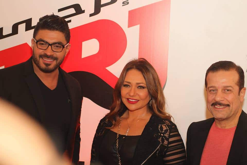 NRJ Egypt opening, Laila Elwy, Khaled Selim and Sherif Mounir, NRJ Egypt