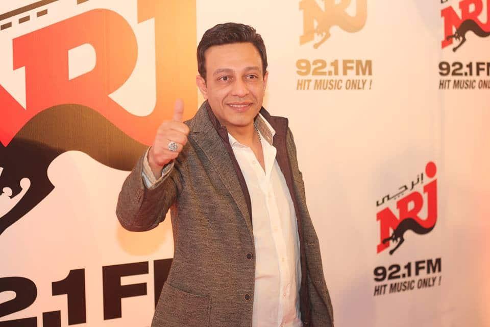 NRJ Egypt Opening, celebs