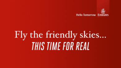 Emirates airline responds to United Express with a video