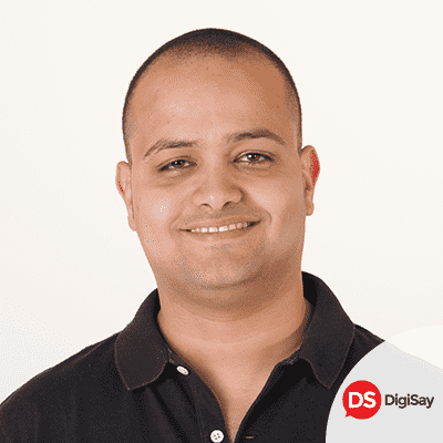 Ahmed Abbas from DigiSay, Marketing Kingdom Cairo 3