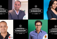 Marketing Kingdom Cairo 3, Bassem ElHady from KIjamii, Amal Homosany from Initiative Media, Ahmed Abbas from DigiSay and Amr El Kalaawy from FP7/CAI