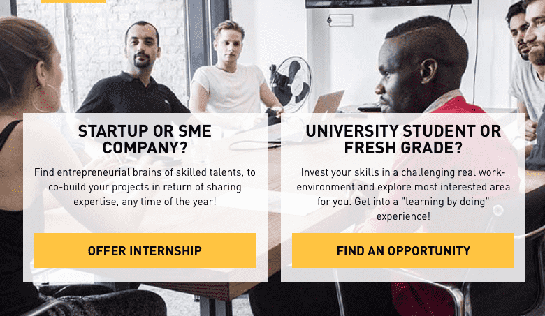 InternsValley enables startups and students to exchange experience and efforts