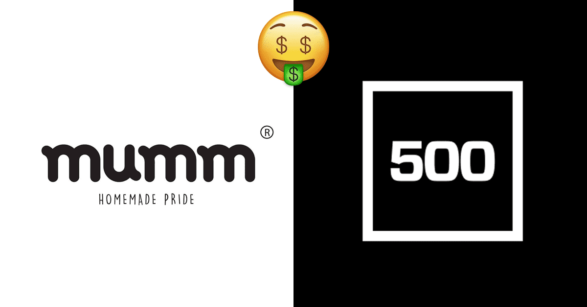 500 startups invests in Mumm