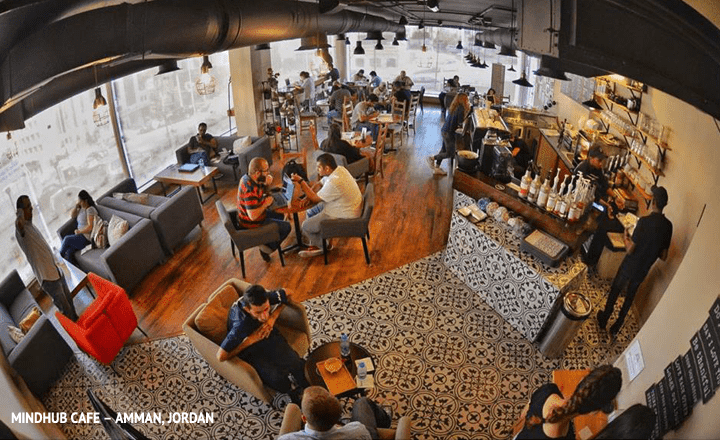 The 10 Best Co-working Places in Amman, Jordan, mindhub cafe
