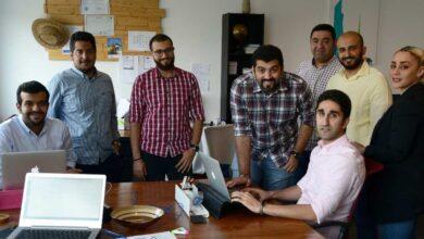 Kuwait's startup Ajar Online team
