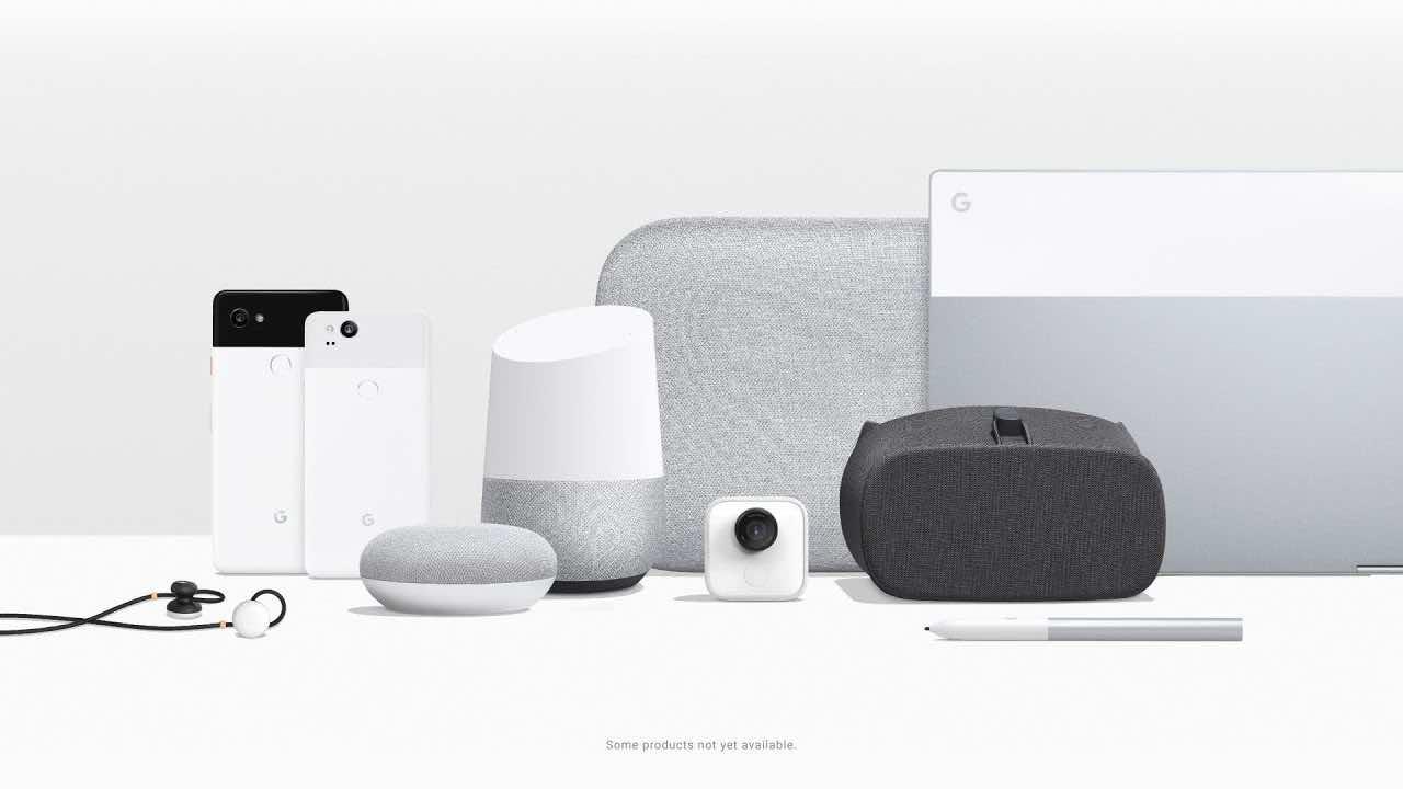 Google unveils Pixel 2, Home Mini, Max, PixelBook, more