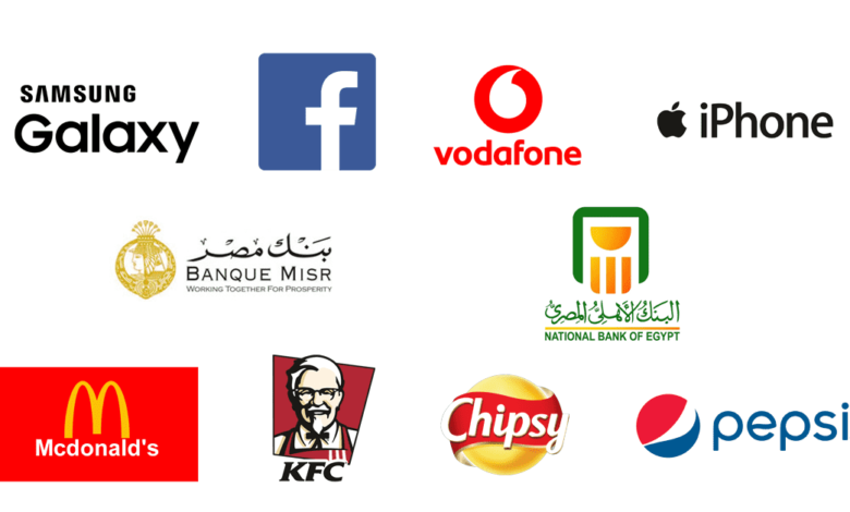 most positively talked about brands among Egypt millennials