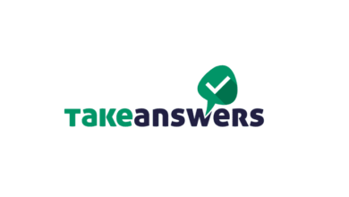 Take Answers: A Quora-like Consultancy Service Mobile App, take answers app logo, takeanswers app logo