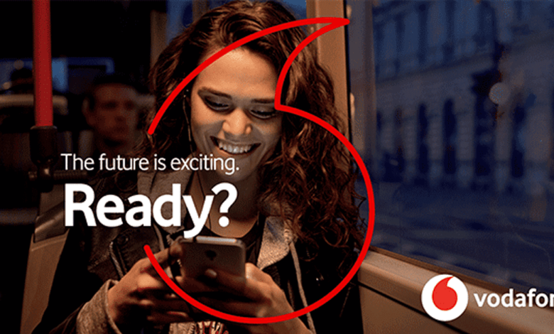 Vodafone New Brand Identity, the future is exciting, ready?, Vodafone Unveils New Brand Positioning As It Moves On From 'Power To You'