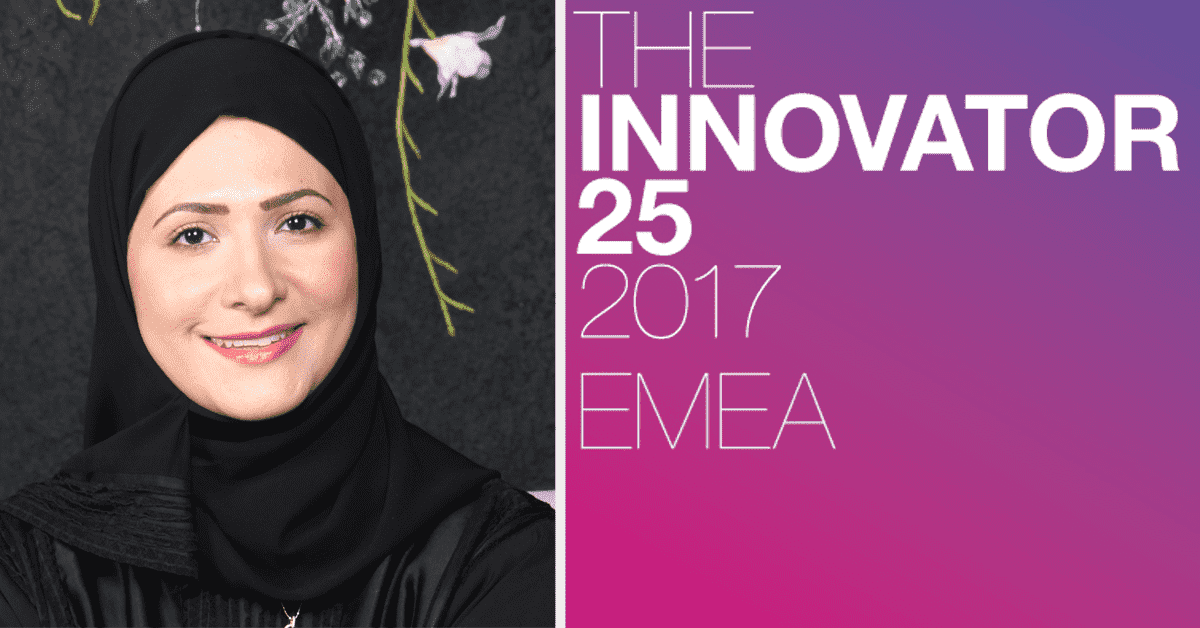 Bahrain's Jehan Abdulkarim Among Holmes Innovator 25 EMEA