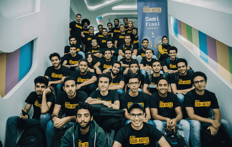 Egypt's first programming competition, wuzzuf
