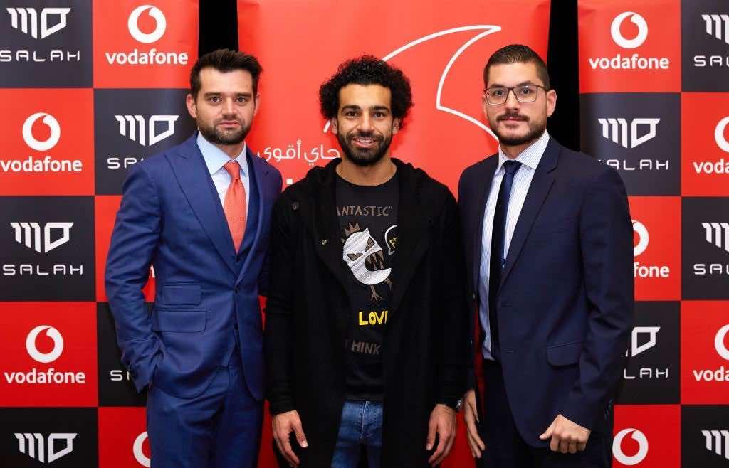 Salah Vodafone, Liverpool's Mohamed Salah Named Vodafone Egypt's Brand Ambassador