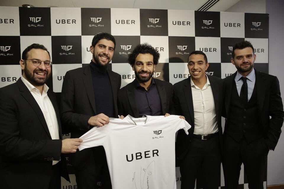 Mohamed Salah named UBER Egypt ambassador