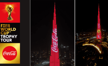 The FIFA World Cup Trophy Tour by Coca-Cola Touches Down in Dubai