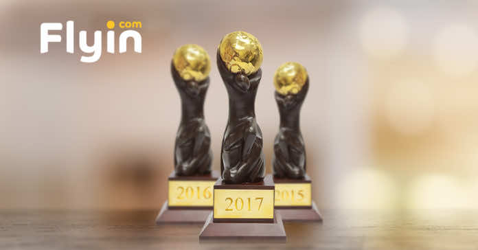 Flyin.com Crowned as the Best Online Travel Agency in Middle East 2017