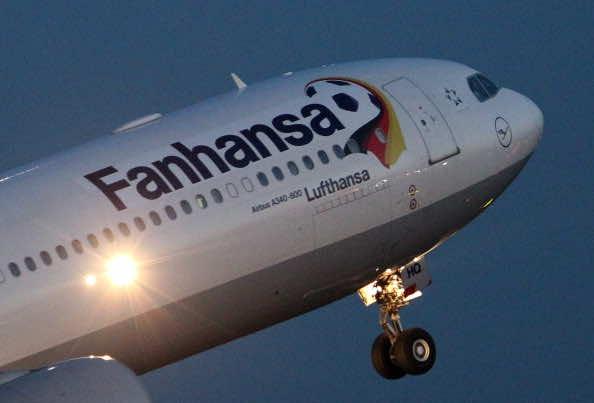Sponsors hijack Egypt's World Cup 2018 airplane branding, Germany national football team's airplane branding