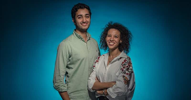 La Reina co-founders Ghada El-Tanawy and Amr Diab
