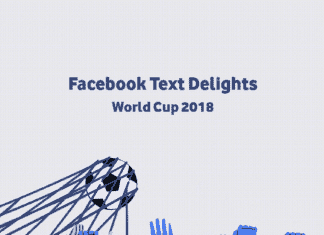 Facebook Activates Text Delight Animations For World Cup 2018, Full List