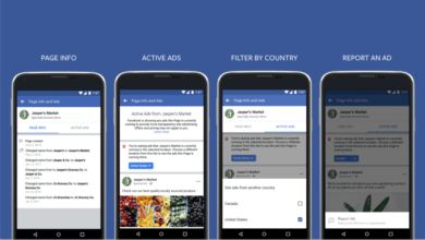 Facebook allows users to see all active ads run by a page for more transparency