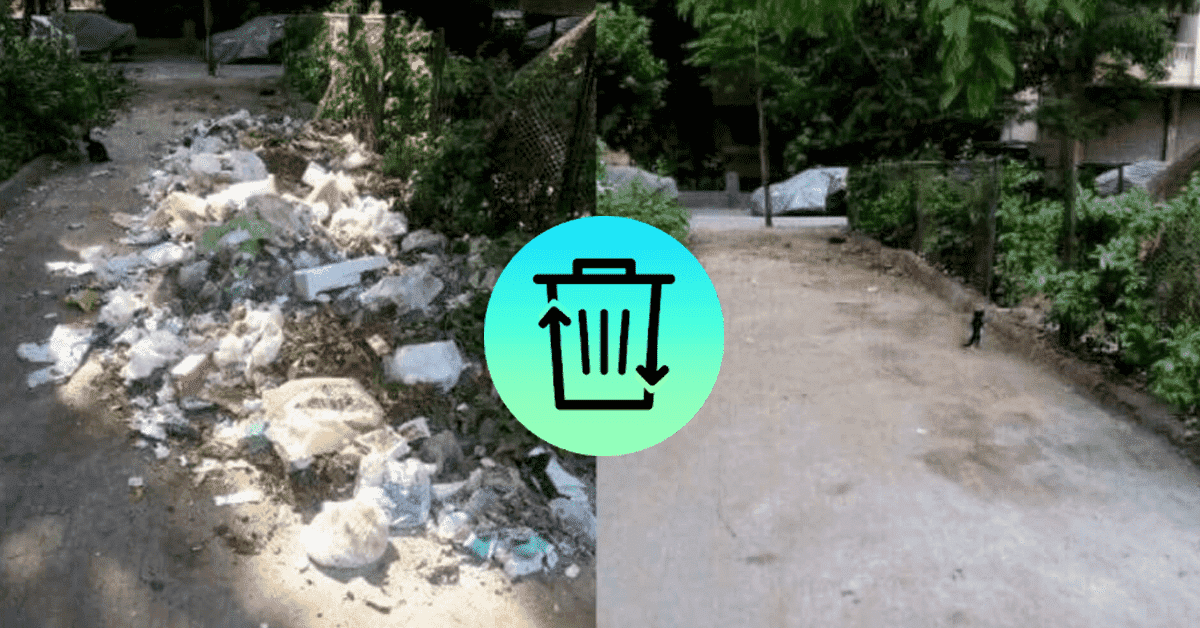 Dawar App strives to solve Egypt's garbage mess with a snap of a button