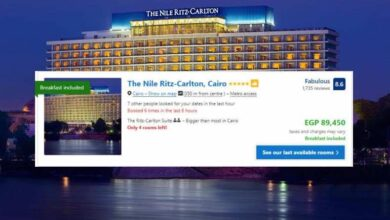 Cairo Hotel Prices on New Year's Eve 2019