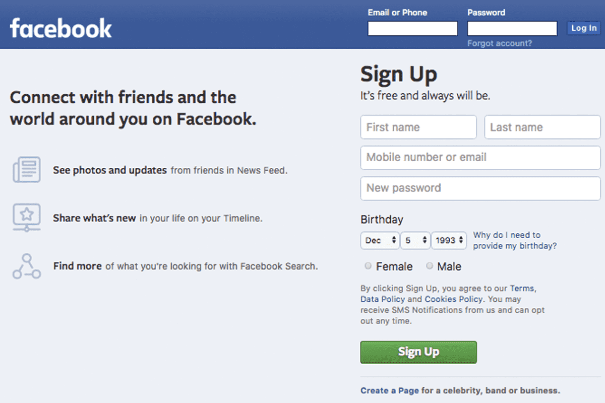 Breaking News: Facebook logs out users on Chrome
