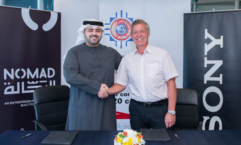 NOMAD Partners With Sony Professional Solutions MEA, Mohammed Khammas and Rob Sherman