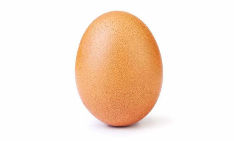 An Egg Ousts Kylie Jenner As Queen of Instagram