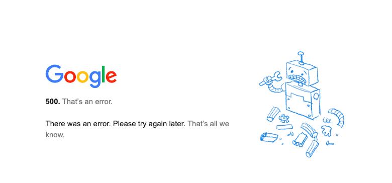 BREAKING: Google Workspace is DOWN