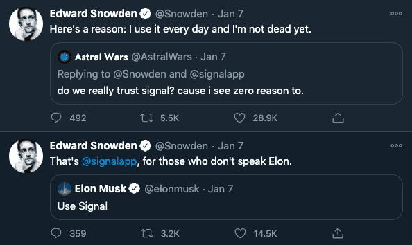 Snowden Signal